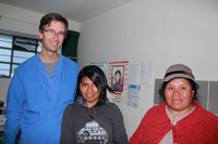 Dr. Long and Peruvian Patients