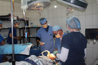 Dr. Saulson and Team Perform Cataract Surgery
