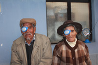 Husband and Wife Following Cataract Surgery