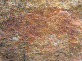 Stone age painting