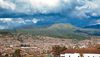 A view of Cuzco