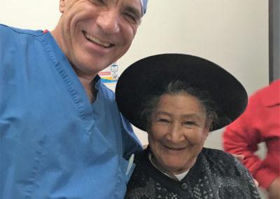 Dr. Schultz with Patient