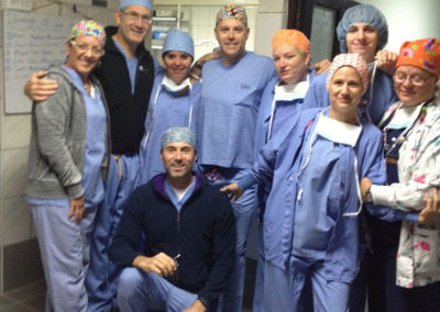 Dr. Taggart Team Photo