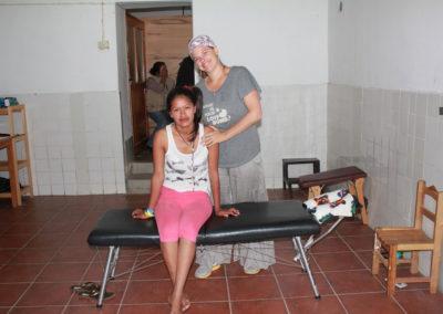 Dr. Zimmerman-Komarek with Patient