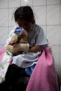 Elena before surgery