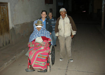 Escorting a Post Operative Patient Home