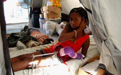 Port-Au-Prince, Haiti – March, 2010