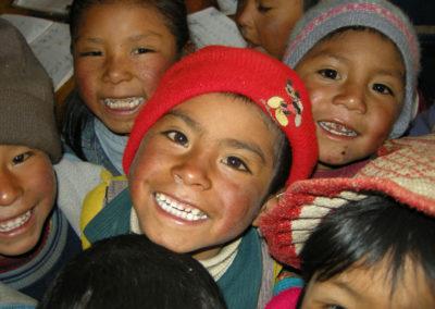 Happy Peruvian Children