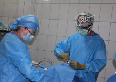 Hard at Work in the Operating Room