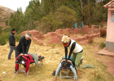 Providing Chiropractic Services in the Andes