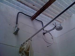 Scott's electrocution shower