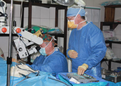 Surgery on a Patient