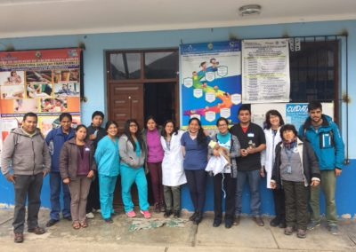 Instructors and Students of Helping Babies Breathe and Helping Mother's Survive Course in Lares