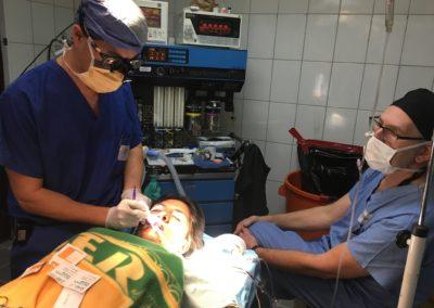 Dr. Hong Preparing to Repair a Cleft Lip
