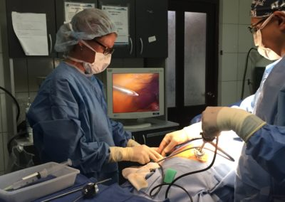 Dr. Narra Removing a Gall Bladder