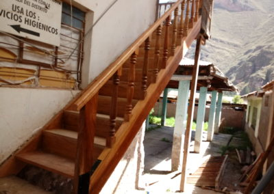 The New Stairs have been Installed