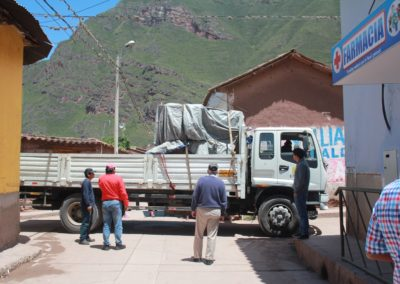 C-Arm Arrives at the Kausay Wasi Clinic
