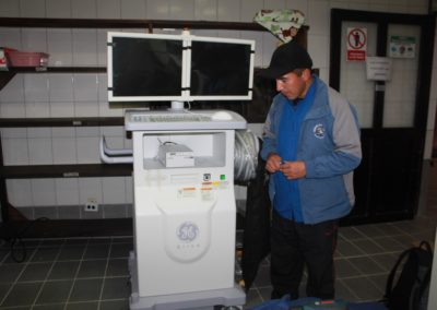 The Monitor is Brought into the Operating Area