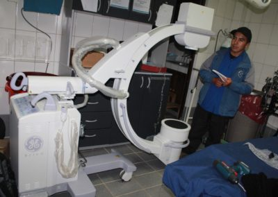 The C-Arm is in the Operating Room